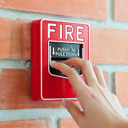 Fire alarms and detectors from Custom Alarms
