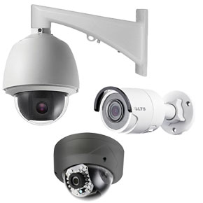 Surveillance cameras to record activity in your home or facility